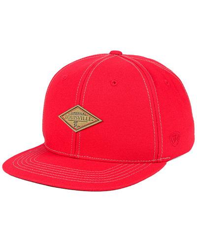Top of the World Louisville Cardinals Diamonds Snapback Cap
