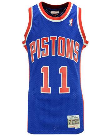 Image 2 of Mitchell & Ness Men's Isiah Thomas Detroit Pistons Hardwood  Classic Swingman Jersey