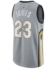adidas Men's LeBron James Cleveland Cavaliers City Swingman Jersey