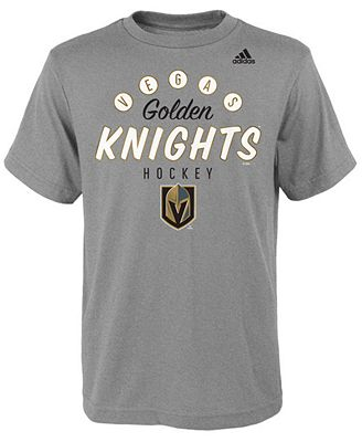 adidas Vegas Golden Knights Sign of the Times T-Shirt, Big Boys (8-20)