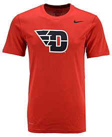 Nike Men's Dayton Flyers Dri-Fit Legend 2.0 Logo T-Shirt