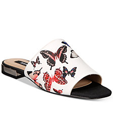 DKNY Roy Flat Slide Sandals, Created For Macy's