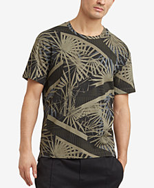 Kenneth Cole Reaction Men's Palm-Print T-Shirt