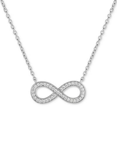 Arabella Swarovski Zirconia Infinity 18