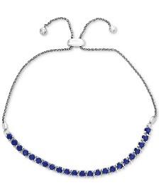 EFFY® Sapphire Slider Bracelet (2 ct. t.w.) in Sterling Silver