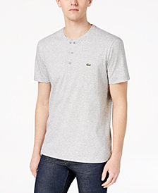 Lacoste Men's Lettering Jersey T-Shirt