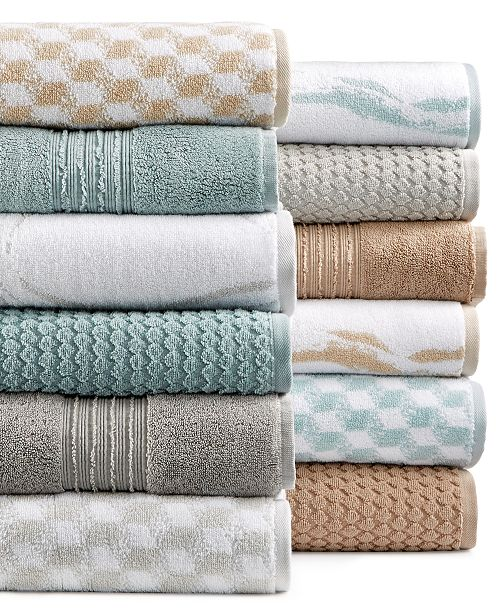 Hotel Collection Turkish Cotton Bath Towel Collection, Created for ...