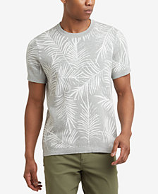 Kenneth Cole Reaction Men's Palm Jacquard T-Shirt