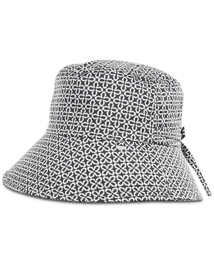 Totes - Split-Back Bow Rain Hat