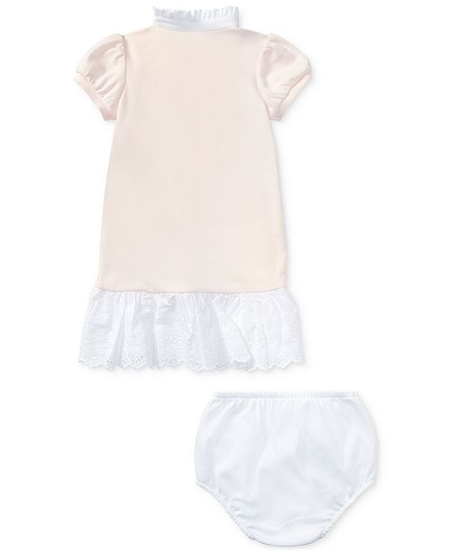112b71713 Polo Ralph Lauren Ralph Lauren Patchwork Dress & Bloomer, Baby Girls ...