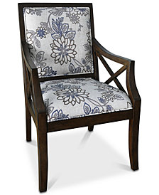Sylvia Accent Chair, Quick Ship