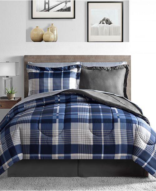 Fairfield Square Collection Alton 6-Pc. Reversible Twin Comforter Set