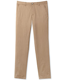 Lacoste Men's Slim-Fit Stretch Chinos