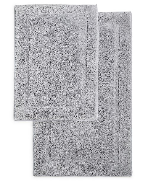 Martha Stewart Collection Cotton 2-Pc. Bath Rug Set, Created for Macy's