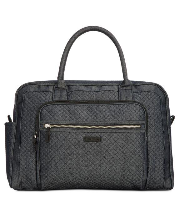 Vera Bradley Iconic Weekender Travel Bag, Blue