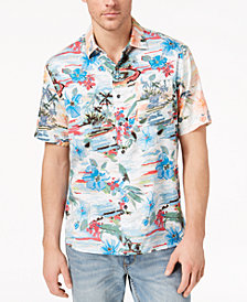 Tommy Bahama Men's Sunblocked Cove Tropical-Print Shirt