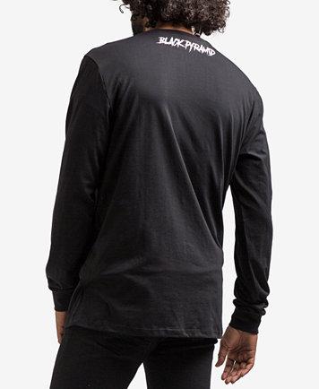 Black Pyramid Men's Color Spectrum Long-Sleeve T-Shirt - T-Shirts ...