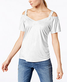 I.N.C. Cold-Shoulder Top, Created for Macy's