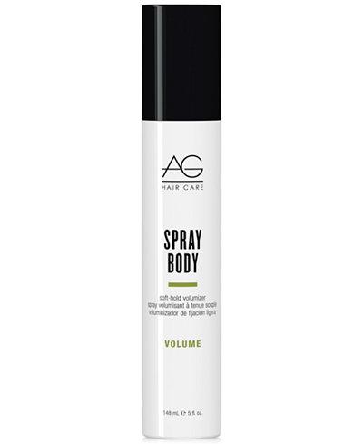 AG Hair Spray Body Soft-Hold Volumizer, 5-oz., from PUREBEAUTY Salon & Spa