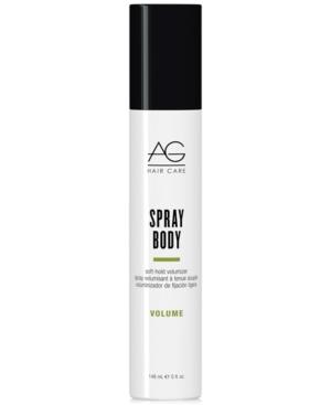 Ag Hair Spray Body Soft-hold Volumizer, 5-oz, From Purebeauty Salon & Spa