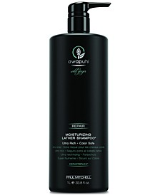 Awapuhi Wild Ginger Moisturizing Lather Shampoo, 33.8-oz., from PUREBEAUTY Salon & Spa