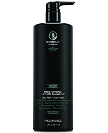Paul Mitchell Awapuhi Wild Ginger Moisturizing Lather Shampoo, 33.8-oz., from PUREBEAUTY Salon & Spa
