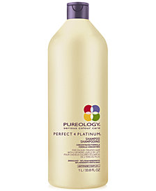 Pureology Perfect 4 Platinum Shampoo, 33.8-oz., from PUREBEAUTY Salon & Spa