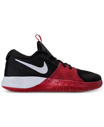 Image 2 of Nike Little Boys' Assersion Basketball Sneakers from Finish Line