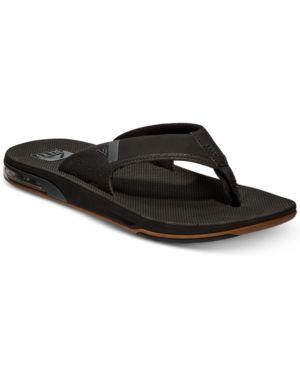 REEF Men'S Fanning Low Sandals Men'S Shoes in Black