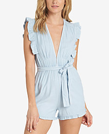 Billabong Juniors' Sunny Garden Striped Romper
