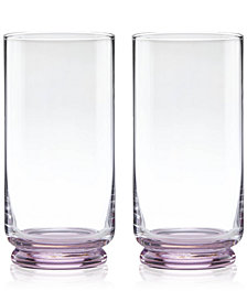 kate spade new york Charles Lane Highball Glasses, Set of 2