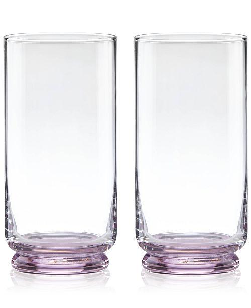 kate spade new york CLOSEOUT! Charles Lane Highball Glasses, Set of 2