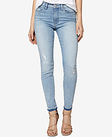 Sanctuary Released-Hem Skinny Jeans