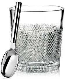 Diamond Line Ice Bucket With Scoop