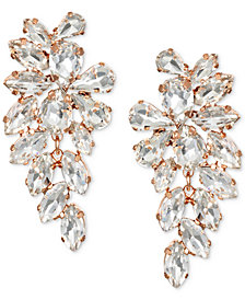 Jewel Badgley Mischka Crystal Arch Drop Earrings
