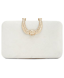 I.N.C. Danyele Satin Clutch, Created for Macy's