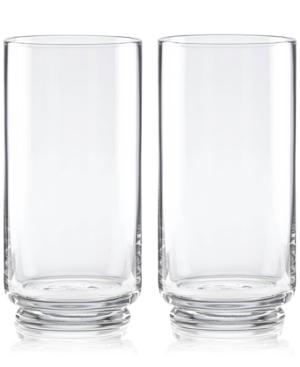Closeout! kate spade new york Charles Lane Highball Glasses, Set of 2