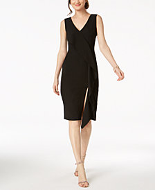 Ivanka Trump Ruffle Sheath Dress