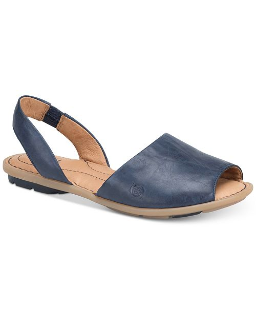 d324c1a3cf93 Born Trang Flat Sandals   Reviews - Sandals   Flip Flops - Shoes ...