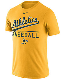 Nike Men's Oakland Athletics Dry Practice T-Shirt