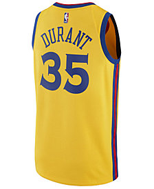 adidas Men's Kevin Durant Golden State Warriors City Swingman Jersey