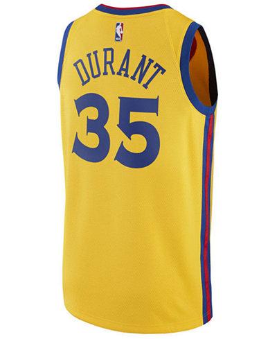 adidas Men's Kevin Durant Golden State Warriors City Swingman Jersey