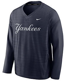 Nike Men's New York Yankees Dry Windshirt Top