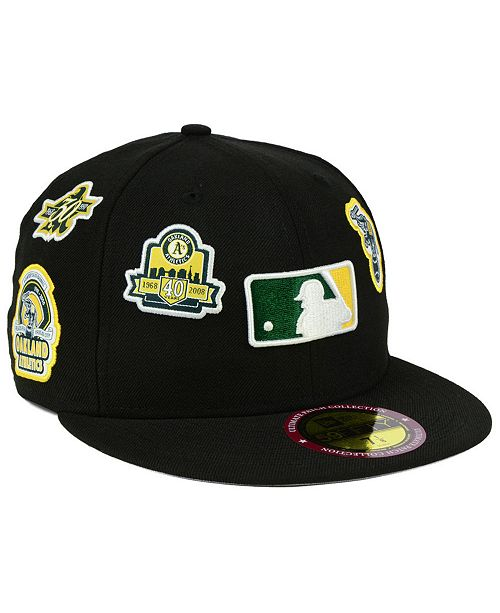 9ce55a69a ... New Era Oakland Athletics Ultimate Patch Collection All Patches 59FIFTY  Cap ...