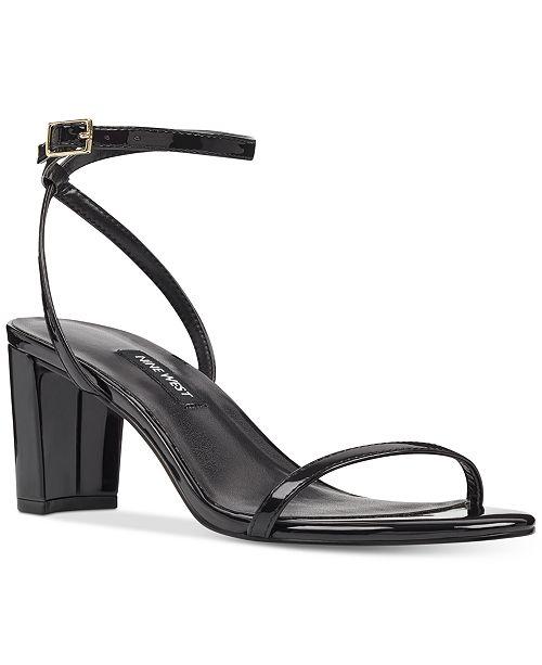 Nine WestProvein Block Heel Sandal L6q4SKR