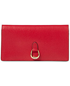 Lauren Ralph Lauren Bennington Slim Leather Wallet