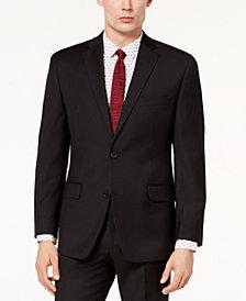 Michael Kors Men's Classic-Fit Airsoft Stretch Solid Suit Jacket