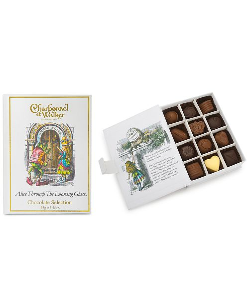 Charbonnel et Walker Alice Through the Looking Glass Chocolate Book Gift Set
