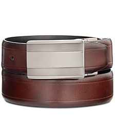 Kenneth Cole Reaction Men's Beveled-Edge Reversible Dress Belt