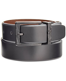 Kenneth Cole Reaction Men's Beveled-Edge Reversible Belt